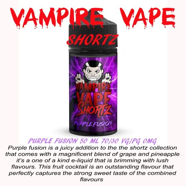 purple fusion poster